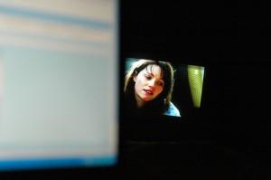 Internet und Tv parallel