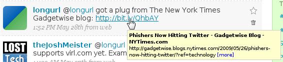 LongURL - kurze URLs Original darstellen