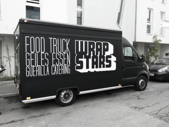 California Wrap Runner Food Truck