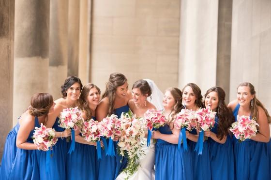 Die beliebtesten Farben für Brautjungfernkleider im Frühling 2019